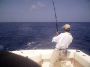 fighting my Mahi of Islamorda 8:14