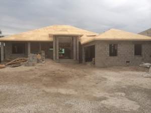 1520 Curlew - the roof is on